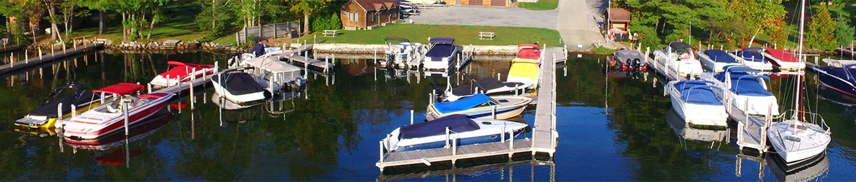 Exclusive Dock Space On Lake George